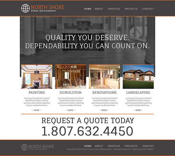 North Shore Developments