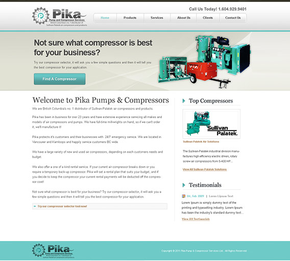 Pika Pumps & Compressors